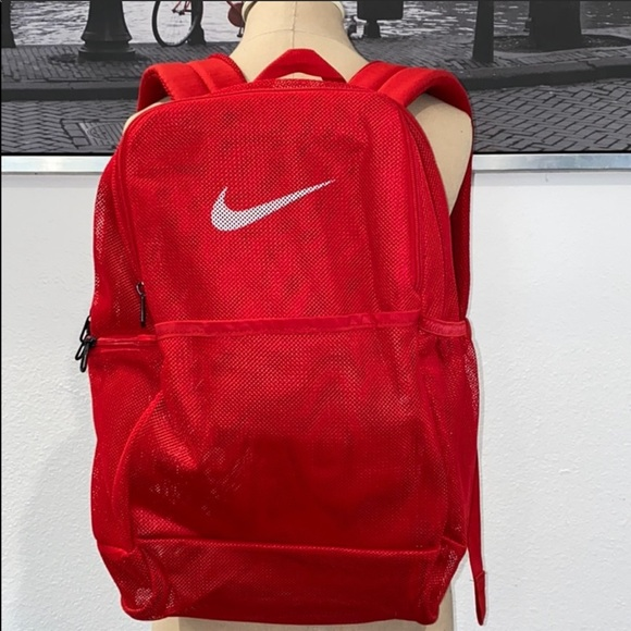 New Nike signature mesh backpack small defect